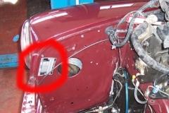 targhetta riassuntiva Rover Mini
